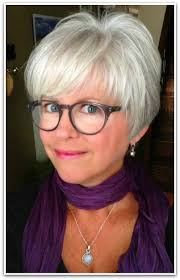 good grey hair styles for 57 year old cute pixie cut she grew out her color in 6 months love her