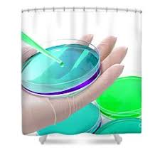 Clinical Laboratory Science Shower Curtains Clinical Laboratory Science Research Lab By Olivier Le Queinec Shower Curtains