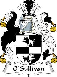 official o sullivan clan family crest motto history surname