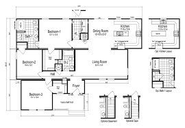 the brevard manufactured home floor plan or modular floor plans