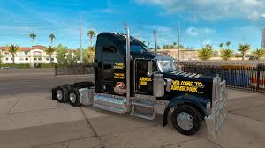 kenworth k200 usa jurassic world jurassic park for kenworth w900 truck for ats