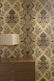 design house skyline yellow motif wallpaper funky flavor paper