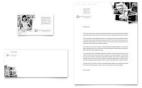 photographer business card u0026 letterhead template word u0026 publisher