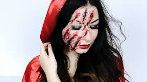 halloween makeup blood snow white or little red riding hood fashion confession