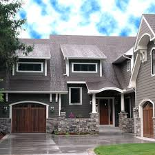 pictures of exterior house paint colors red roof design ideas