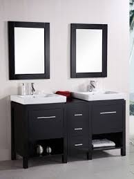 60 In Bathroom Vanity Double Sink 60