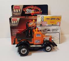 toy bigfoot monster truck vintage playskool sst pull sled bigfoot orange blossom special