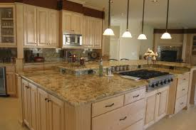 decorating ideas for kitchen countertops furniture modern small kitchen with stone wall and stone