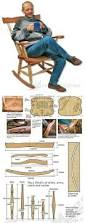 Woodworking Plans And Projects Magazine Back Issues by Best 25 Rocking Chair Plans Ideas On Pinterest Adirondack
