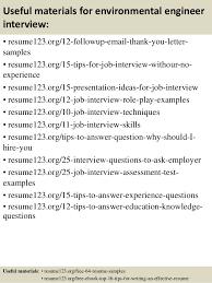 environmental engineer sample resume 12 environmental engineer