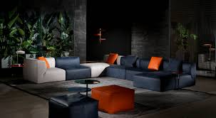 il decor furniture play leather sectional cierre italy