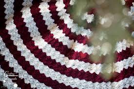 tree skirt crochet pattern