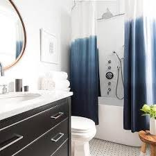 Threshold Ombre Shower Curtain Ombre Black Shower Curtain