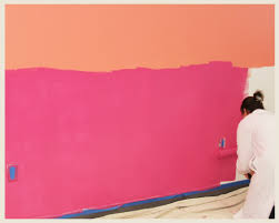 colorfully behr how to paint an ombre wall