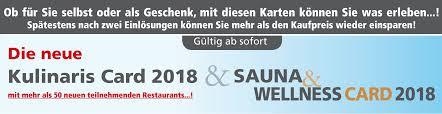 Bad Westernkotten Sauna 2für1 Sauna Und Wellness Card Kulinaris Card Ruhrgebiet 2für1