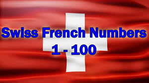 French Flag Banner The Swiss French Numbers U2013 Sight Lake