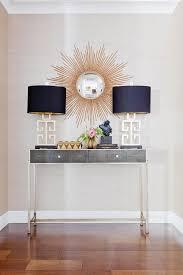 Entrance Tables And Mirrors Best 25 Sunburst Mirror Ideas On Pinterest Wall Mirrors Diy