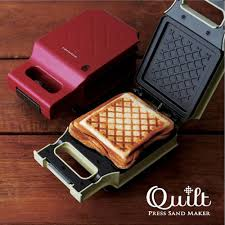 Automatic Toaster Japan Recolte Press Sand Maker Quilt Sandwich Maker Snack Toaster