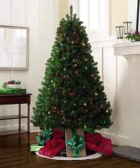 6 5 u2032 christmas tree with 500 multi colored for clear lights