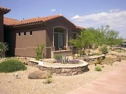 xeriscaping inspiration for a rock garden front yard desert