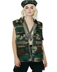 Womens Military Vest Womens Vest And Leather Vest Dolls Kill