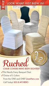 ruched chair covers new ruched chair covers for any event from linenhero fits