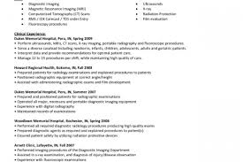 Sample Resume For Radiologic Technologist by Rad Tech Resume Template Technologist Resume Radiologic