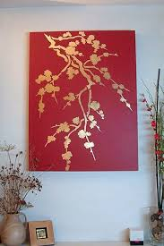 diy spray paint wall painting spray the canvas gold place