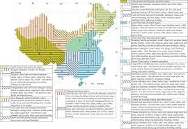 Africa Religion Map by Economic And Cultural Complexes Of China