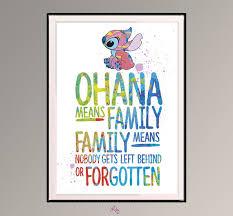 que signifie chambre ohana signifie famille famille signifie que personne