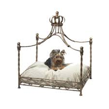 Pet Canopy Bed Royal Pet Canopy Bed Pets Iron Accents Classic