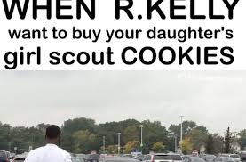 Cookie Meme - the internet destroys r kelly over those cookies am i wrong for