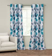 Grey And Blue Curtains Amazon Com Duck River Textiles Karine Faux Silk Grommet Pair