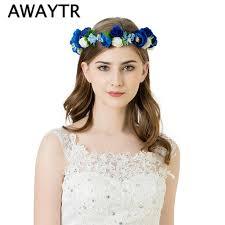 flower hair accessories flower garland headbands flower hair accessories 2018 beautiful