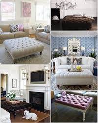 coffee table coffee table diy ottoman house to home blog tufted co
