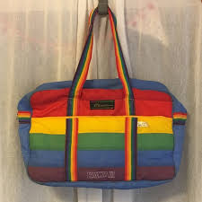 Hawaii travel luggage bags images Vintage hawaii victor sports duffle bag rainbow 80s 70s from jpg