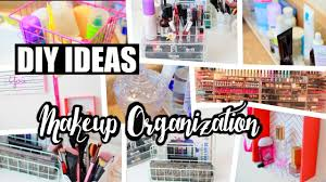 Cheap Organization Ideas 8 Cheap Diy Makeup Organization U0026 Storage Ideas Neonrouge73