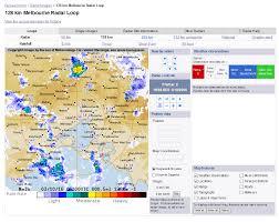 Weather Map Symbols Radar Map Features
