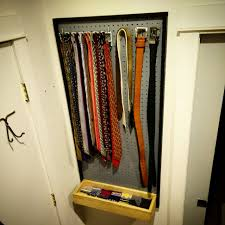 Diy Storage Ideas For Small Bedrooms Racks How To Make Your Diy Tie Rack With Simple Design