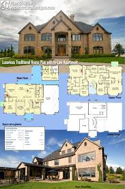 In Law Suite House Plans Plan 85178ms Luxurious Traditional House Plan With In Law