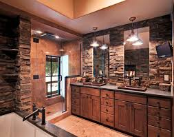 Stone Bathroom Designs 17 Rustic Bathroom Vanity Designs Ideas Design Trends