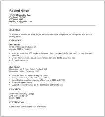 sle resumes for various jobs sle resume for hairdressing job hairdresser apprentice best format