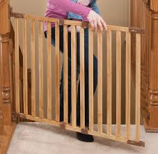 Pressure Mounted Baby Gate Angle Mount Wood Safeway