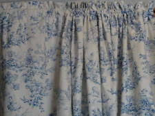 Blue Toile Curtains Country Curtains Toile Curtains Drapes Valances Ebay