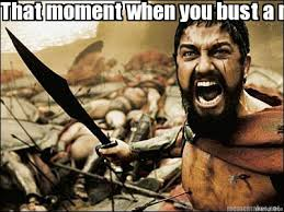 Bust A Nut Meme - meme maker that moment when you bust a nut
