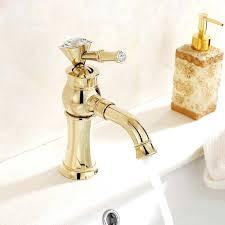 gold plated bathroom fixtures bathroom sink faucets delta antique