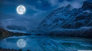 full moon reflection water 4k hd desktop wallpaper for 4k ultra