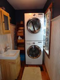 laundry in bathroom ideas remodelaholic 25 ideas for small laundry spaces