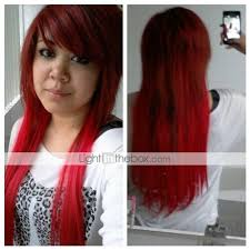 light in the box wig reviews 20 inch synthetic clip in hair extensions 10 colors available review