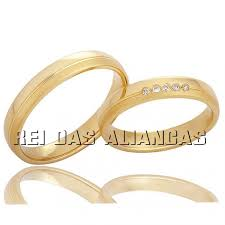 rei das aliancas alianças de casamento ou noivado cód 577 rei das alianças